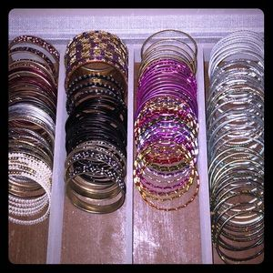 Native American/Middle Eastern Glass Bangles